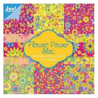Joy!Crafts / Jeanine´s Art, Hobby Solutions Dies /  Papierblock Flower Power