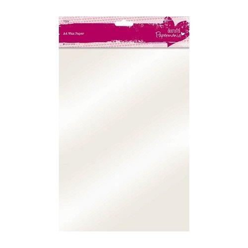 BASTELZUBEHÖR, WERKZEUG UND AUFBEWAHRUNG A4 wax paper