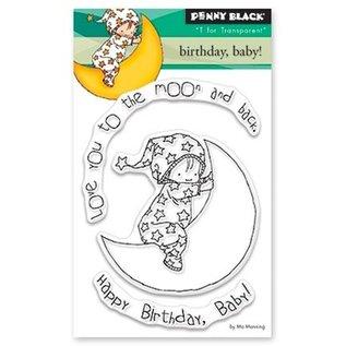 Penny Black Transparante Stamp: verjaardag, baby