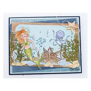 Marianne Design Transparant Stempel: Hetty's Mermaid