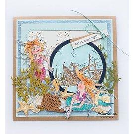 Marianne Design Tampon transparent: sirène de Hetty