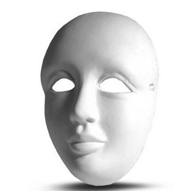 BASTELZUBEHÖR, WERKZEUG UND AUFBEWAHRUNG dimensione maschera veneziana 8,5 x 6 x 4 cm