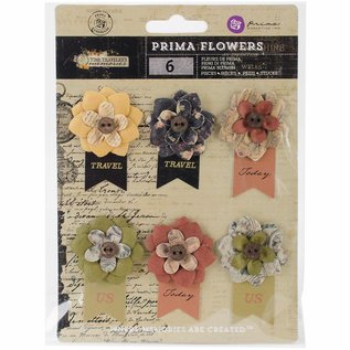 Prima Marketing und Petaloo Prima Flowers Collection: Bloem Versieringen