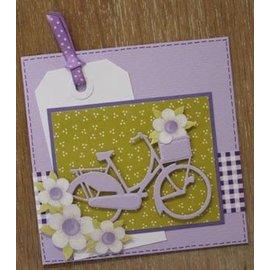 Marianne Design Kutte og prege sjablonger, sykkel