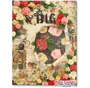 Designer Papier Scrapbooking: 30,5 x 30,5 cm Papier papier Designer, 30,5 x 30,5 cm, Bo Bunny Juliette