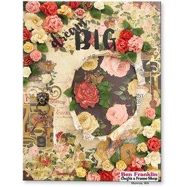 Designer Papier Scrapbooking: 30,5 x 30,5 cm Papier Ontwerper papier, 30,5 x 30,5 cm, Bo Bunny Juliet