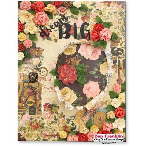 Designer Papier Scrapbooking: 30,5 x 30,5 cm Papier Designerpapier, 30,5 x 30,5cm, Bo Bunny Juliet
