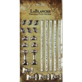 LaBlanche 3 / autoadesivi dimensionali rilievo con un metallico lucido finlandese ed evidenziare.