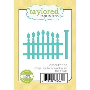 Taylored Expressions cutting and embossing template:  Fence