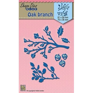 Nellie Snellen cutting and embossing template: Branches, 81x59mm+70x38mm