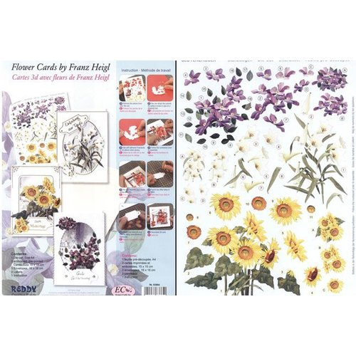 BASTELSETS / CRAFT KITS Craft set flower cards