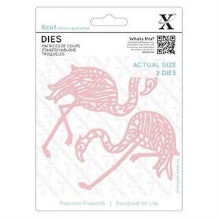Docrafts / X-Cut cutting and embossing template: 2 Flamingo