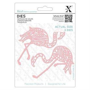 Docrafts / X-Cut Snij en embossing mall:2 Flamingo