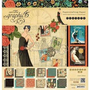 GRAPHIC 45 Designersblock: Graphic 45 Couture Collection, 20,5 x 20,5 cm