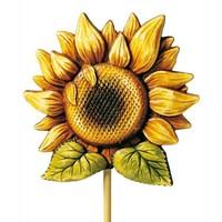 Giessform: Sonneblume, 18cm mit Giessanleitung in der Packung
