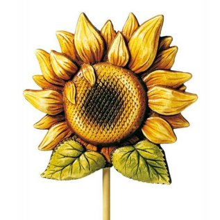 Modellieren Casting: sunflower, 18cm with casting instructions in the package