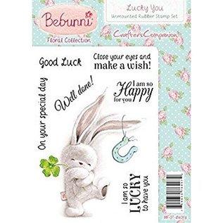 Crafters Company: BeBunni Gummi Stempel, BeBunni, Lucky