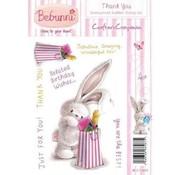 Crafters Company: BeBunni timbre en caoutchouc, BeBunni