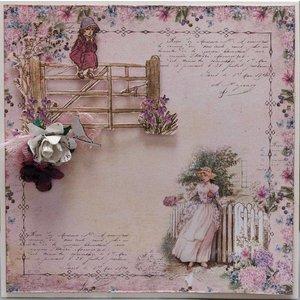 """LaBlanche LaBlanche Papers """"Anemone"""" 3 (met videovoorbeeld in onze creatieve blog)"""