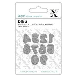 Docrafts / X-Cut Stanzschablonen: Mini Zahlen