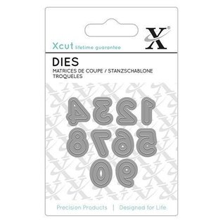 Docrafts / X-Cut cutting and embossing templates: Mini numbers