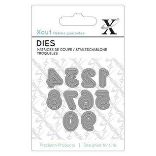 Docrafts / X-Cut Snij en embossing mall / Sjablonen: Mini cijfers