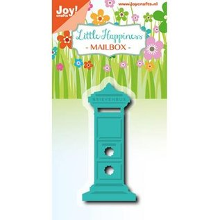 Joy!Crafts / Jeanine´s Art, Hobby Solutions Dies /  Cutting and embossing Stencil: Little Happiness, Mailbox
