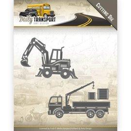 AMY DESIGN AMY DESIGN, Stanz- und Prägeschablone: Transport