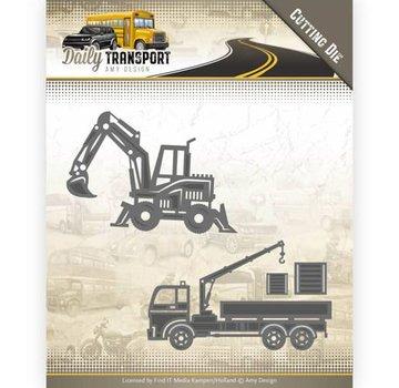 AMY DESIGN AMY DESIGN, modello di taglio e goffratura: trasporto