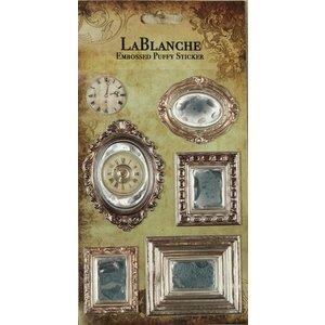 LaBlanche 3 Dimensional / Geprägte Aufkleber mit einem glänzenden finnisch und metallischen Highlight