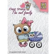 Nellie Snellen Nellie Snellen, timbre transparent: La famille hibou