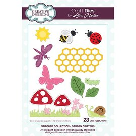 CREATIVE EXPRESSIONS und COUTURE CREATIONS CREATIVE EXPRESSIONS, cutting and embossing template: Background Collection Solar Circles - Copy