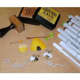 Cottage Cutz Cottage Cutz, skjære og prege mal: Stitched Honey Bees