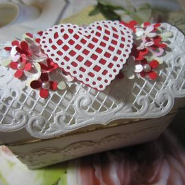 BASTELSETS / CRAFT KITS Kit de artesanía para Mini pecho (tesoro)