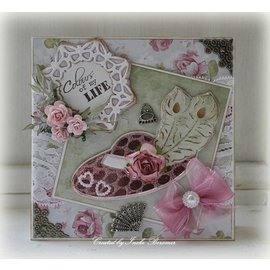 Joy!Crafts / Jeanine´s Art, Hobby Solutions Dies /  Gioia Crafts, stampaggio e goffratura, Cappello
