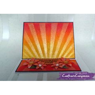 Crafter's Companion Crafter's Companion , Embossing Folder, Sunrise