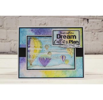 Crafter's Companion Crafter's Companion , 3D Embossing Folder, Up, Up & Away