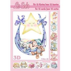 Bilder, 3D Bilder und ausgestanzte Teile usw... 3D book A5: Baby