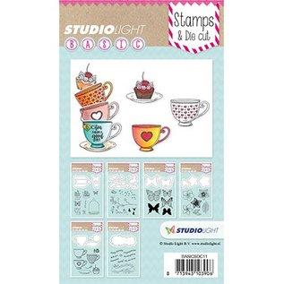 Studio Light Studio Light, Stamp en Snij en embossing Mall / Sjablonen