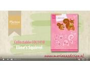 plantilla de perforación:: Video coleccionable COL1410 ardilla, Marianne Diseño