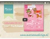 Vídeo Diseño Marianne, COL1411 coleccionable, perro