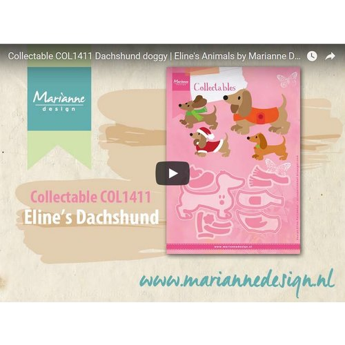 Video Marianne Design, Collectable COL1411, Dog