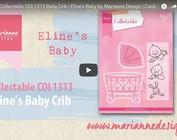Vidéo Marianne Design, collectable COL1313, Lit bébé