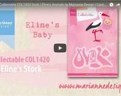 Vidéo, modèle poinçonnage Marianne Design, COL1420, Storch