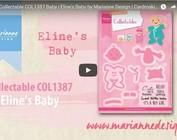 Vidéo Marianne Design, collectable COL1387, bébé