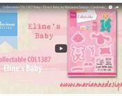 Vídeo Marianne diseño, coleccionable COL1387, Baby