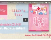 Video Marianne Design, Collectable COL1421, Baby Sachen