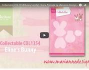 Vídeo Marianne diseño, coleccionable conejito COL1354