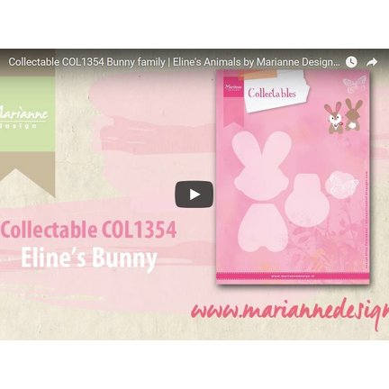 Video Marianne Design, Collectable COL1354, bunny