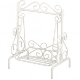 Embellishments / Verzierungen Mini Hollywood swing, 7x5x9cm